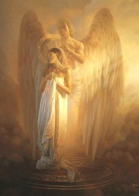 He sent His Angel to protect you.