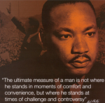 A great American, a bold and Divinely Illuminated man of God - Dr. Martin Luther King, Jr.